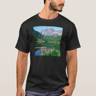Park Maroon Bells White River Colorado T-Shirt