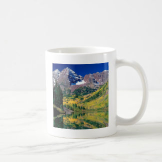 Park Maroon Bells White River Forest Colorado Coffee Mug