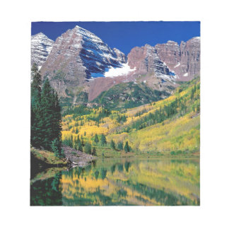 Park Maroon Bells White River Forest Notepad