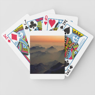 Park Misty Peaks Alps Austria Playing Cards