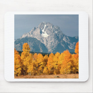 Park Moran In Autumn Wyoming Mouse Pad