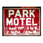 Park Motel Postcard