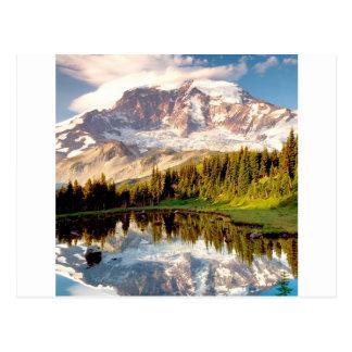 Park Mystic Tarn Rainier Post Card