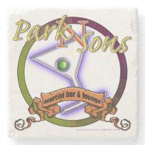 Park N Sons MB&L stn cstr Stone Coaster