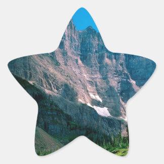 Park Near Iceberg Lake Glacier Montana Star Stickers