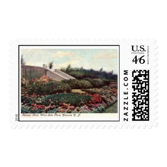 Park, Newark, New Jersey Vintage Postage Stamps