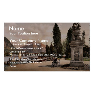 Park of Hotel Lido, Riva, Garda, Lake of, Italy cl Double-Sided Standard Business Cards (Pack Of 100)
