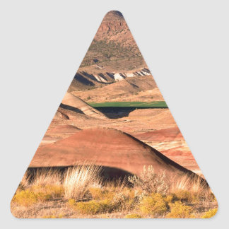 Park Painted Hills Fossil Beds Monument Triangle Sticker