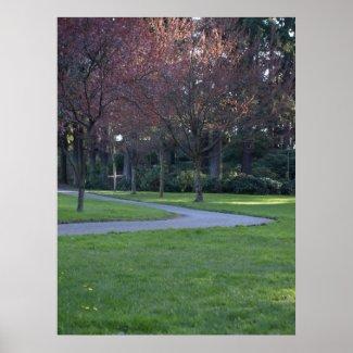 Park Pathway print