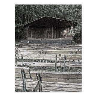 Park Pavilion Stage Postcard