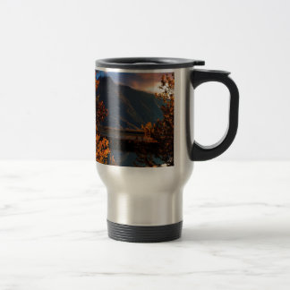 Park Pioneer Peak Matanuska Valley Alaska Travel Mug