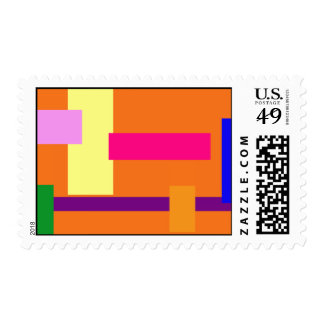 Park Postage Stamp