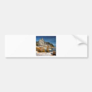 Park Prusik Peak Gnome Tarn Alpine Lakes Bumper Sticker