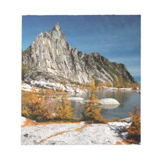 Park Prusik Peak Gnome Tarn Alpine Lakes Notepads