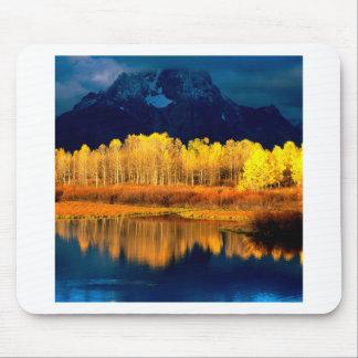 Park Quaking Aspen Moran Grand Tetons Wyoming Mouse Pad