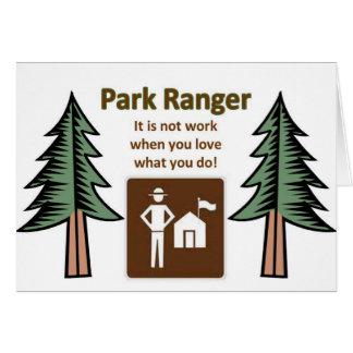 Park Ranger Greeting Cards