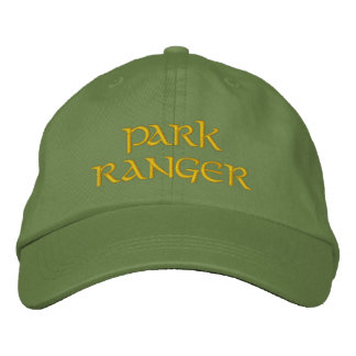 Park Ranger Embroidered Baseball Hat
