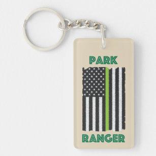 Park Ranger Flag Keychain