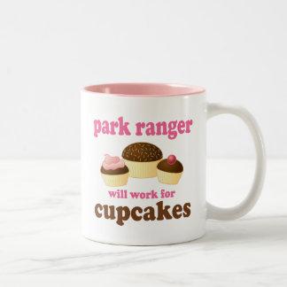 Park Ranger (Funny) Gift Two-Tone Coffee Mug