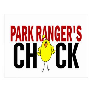 PARK RANGER'S CHICK POST CARD