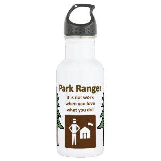 Park Ranger Stainless Steel Water Bottle