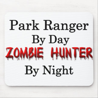 Park Ranger/Zombie Hunter Mouse Pad