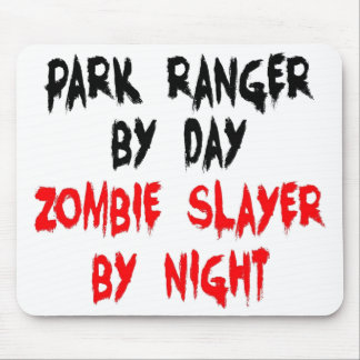 Park Ranger Zombie Slayer Mouse Pad