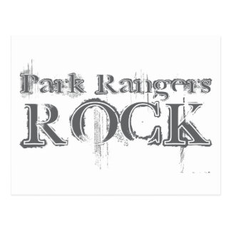 Park Rangers Rock Postcard