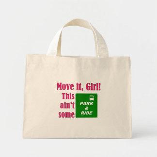 Park & Ride (Pink) Tote Bag