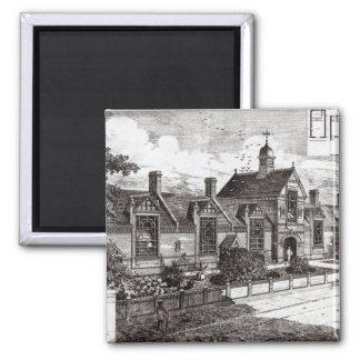 Park Road, Hampstead, from 'The Building News' Magnet