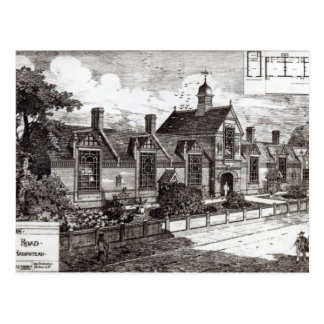 Park Road, Hampstead, from 'The Building News' Postcard
