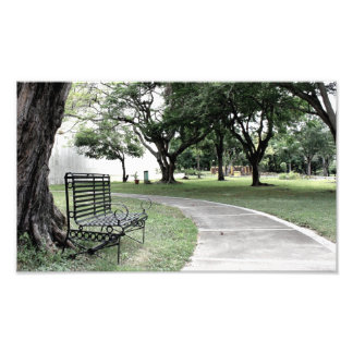 Park Santiago Dominican Republic Photo Print