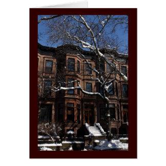 Park Slope, Brooklyn, NY Brownstone Card