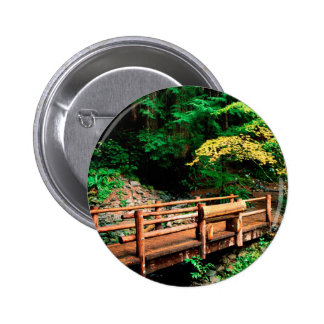 Park Sol Duc Falls Trail Olympic Pinback Buttons