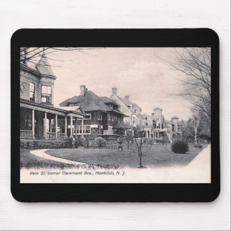 Park St., Montclair, New Jersey Vintage Mouse Pad