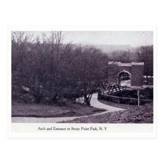 Park, Stony Point, New York Vintage Postcard
