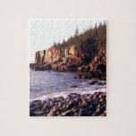 Park Sunrise At Otteracadia Maine Puzzle