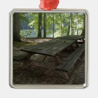Park Tables Metal Ornament