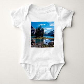 Park The Great Outdoors Jasper Alberta Canada Baby Bodysuit