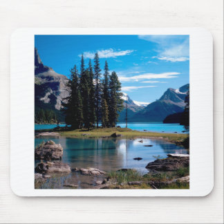 Park The Great Outdoors Jasper Alberta Canada Mouse Pad