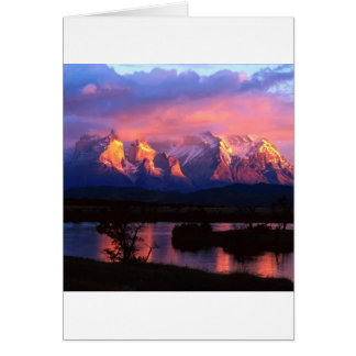 Park Torres Del Paine Serrano River Chile Card