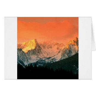 Park Trapper Peak Bitterroot Ains Montana Card