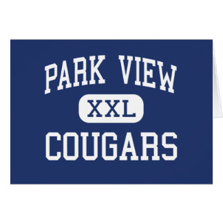 Park View Cougars Middle Cranston Card
