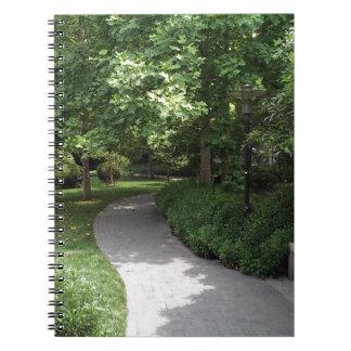 Park Walkway Notebook