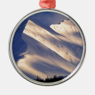 Park Whispering Ain Summit Lake Kenai Alaska Christmas Ornament