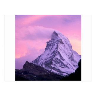 Park Wind Shear Matterhorn Switzerland Postcard