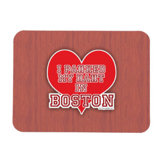 Park Your Heart in Boston Magnet