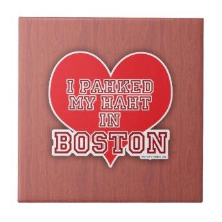 Park Your Heart in Boston Tile