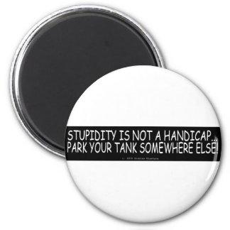 PARK YOUR TANK MAGNET