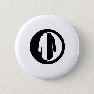 Parka Power is a cool retro mod motif Pinback Button